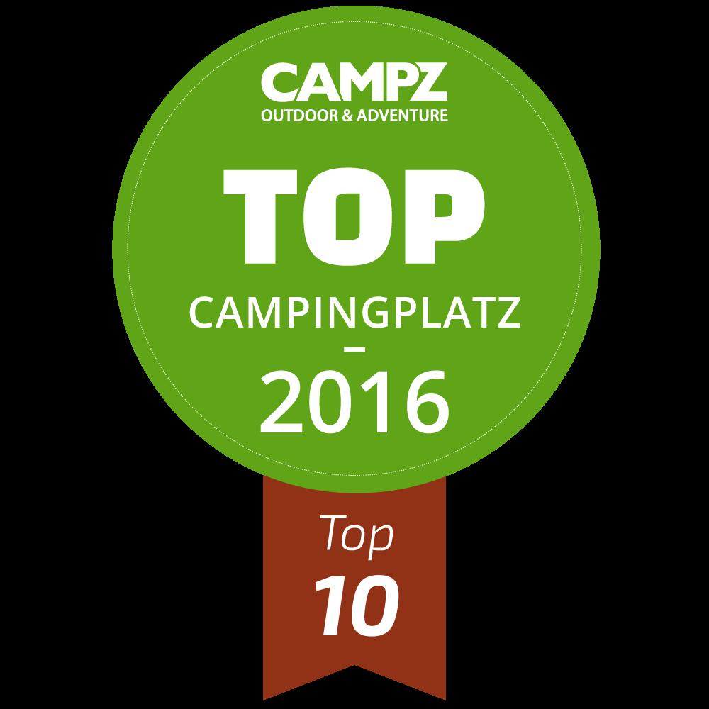 CAMPZ Auszeichnung 2016